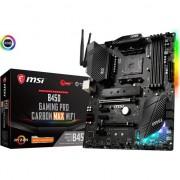 Placa de baza MSI B450 GAMING PRO CARBON MAX WIFI , Sloturi 4 , DDR4 , ATX , Socket AM4