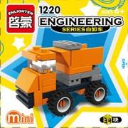 ENLIGHTEN Urban Construction Engineering Vehicles Model Building Blocks Compatible With Legoe DIY Assembling Bricks Kids Toys (1220)