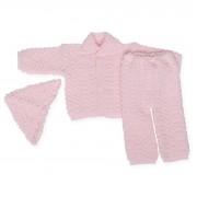 Costumas roz tricotat
