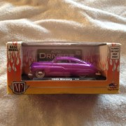 LIMITED EDITION 2012 M2 Die Cast 1:64 1949 DEEP PURPLE MERCURY