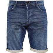 Q/S designed by Pantaloni scurți pentru bărbați 44.899.72.3470.57Z4 Stone medieșă Denim spălat 30