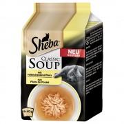 Sheba Classic Soup 32 x 40 g - Megapack % - Tiras de pechuga de pollo