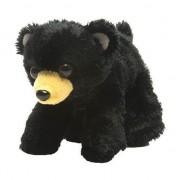 Wild Republic Pluche zwarte beer/beren knuffel 18 cm speelgoed
