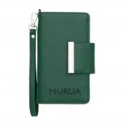 【SAC'S BAR】ムルーア MURUA 全機種対応 スマホケース MR-G575 グリーン レディース