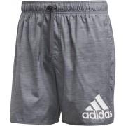 adidas Badge of Sport Melange SL Shorts Men grey six S 2019 Badkläder