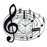 Zegar ścienny JVD HJ03 Nutka 50 x 55 cm