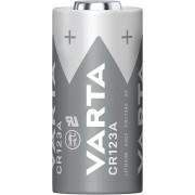Baterie foto litiu CR-123A, 3 V, 1600 mAh, Varta