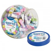 Gumica Minigomma Giotto Fila 2339 sortirano pastel boje 000040801