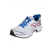 Reebok Men's Ride Quick White, Red and Silver Running Shoes - 11 UK/India (45.5 EU)(12 US)