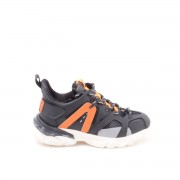 La Carrie Sneaker Allacciata Tess Tecnico 601-507-10-S025a-Black