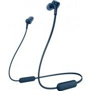 Casti Stereo Sony WIXB400L, Bluetooth, EXTRA BASS, 15 ore autonomie, Microfon (Albastru)