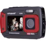 Polaroid iE090 Digitalkamera 18 Megapixel Svart-röd Undervattenskamera, Dammskyddad, Frontdisplay