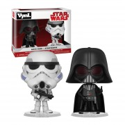 Funko Disney Vynl Darth Vader Y Stormtrooper Star Wars