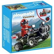 PLAYMOBIL Mountain Rescue Quad Playset