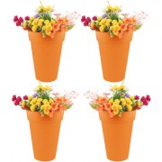 Wonderland (pack of 4) 32cms H pp in Orange