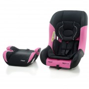 Combo Autoasiento Y Booster Prinsel Rally Mod 7232 Rosa