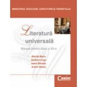 Literatura Universala Manual pentru cls a-XII-a