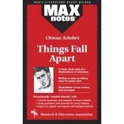 Things Fall Apart (Maxnotes Literature Guides), Paperback/Sara Talis O'Brien