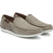 Clarks UnGraysen Free Taupe Nubuck Lace Up For Men(Brown)