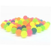 Bouncy Balls Small Colorful Bright Solid Color High Bouncing Balls Bulk-50pcs by LIMNUO