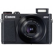 Digitale camera Canon G9 X Mark II 20.9 Mpix Zwart Full-HD video-opname, GPS, Bluetooth