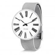 Arne Jacobsen Clocks Armbandsur Roman Vit/matt stål 46 mm Arne Jacobsen Clocks