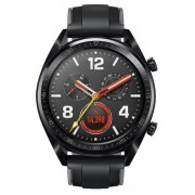 Huawei Watch GT black leather band