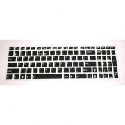 BingoBuy Semi-Black Backlit High Quality Silicone Keyboard Protector Skin Cover for ASUS A53E D550MA F552LDV F751LDV G55