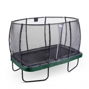 EXIT Studsmatta Elegant Premium Rektangulär 214x366 Grön +Safetynet Deluxe