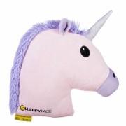 Perna decorativa Emoji Unicorn Pink Happy Face