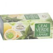 Ceai verde cu aroma de lamaie 20plicuri BELIN