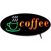Reclama luminoasa tip panou model COFFE