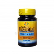 Nature Essential Omega 3-6-9 1000mg 30 perlas - nature essential - complementos alimenticios