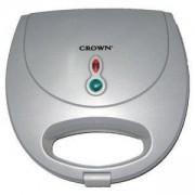 Сандвич Грил преса Crown CGM-755C, Сив