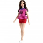 Barbie Fashionista Muñeca 32cm Curvy Con Look 'future Is Bright' Mattel