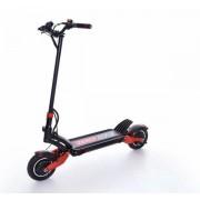 """Trotineta electrica ZERO 10x, Autonomie 65-85 Km, Viteza 65 Km/h, Motor 2 x 1000W, Roti pneumatice 10"""" (Negru)"""
