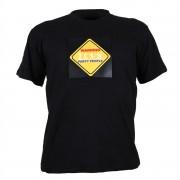 Summary Трицветна LED тениска, Warinig Party People дизайн, размер ХL (STS-PAR-XL)