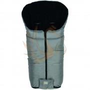 Fillikid bundazsák Eco big babakocsiba 100*55cm szürke-fekete