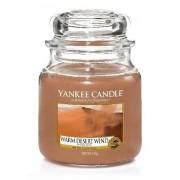 Yankee Candle Med Jar Średnia świeczka zapachowa Warm Desert Wind 411g