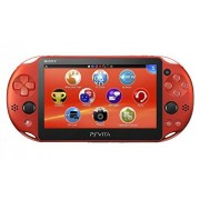 Sony PlayStation Vita Wi-Fi MetallicRed PCH-2000ZA26 (Japan Import)