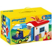 Playmobil Truck with Garage, Multi Color
