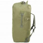 vidaXL Мешка, войнишки стил, 85 л, маслиненозелена