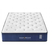 Sleep Happy Premium Eurotop 5 Zoned Cool Gel Memory Foam Mattress 34cm - King
