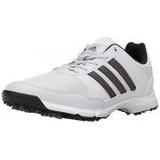 Adidas Tech Response 4.0 Zapatillas de Golf para Hombre, White/Dark Silver Metallic, 12 US