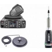 Pachet statie radio CB Avanti Morini Forza PRO-Version + antena radio CB Avanti Regale Plus si baza magnetica 170PL