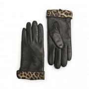 Handskmakaren Guidonia handskar i skinn, dam, Svart, 7,5