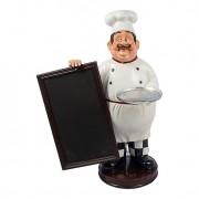 Cozinheiro Com Bandeja E Quadro Negro 86X70X50 Oldway