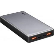 Goobay PowerBank batteri på 20.000mAh 3A QC3.0