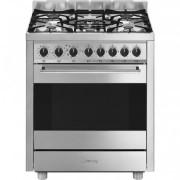 SMEG B71GMXI9 cucina Piano cottura Acciaio inossidabile Gas A