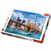 Trefl Puzzle Slagalica View of New York 500 kom (37331)